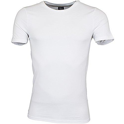 Smith & Jones Purlin Basic T-Shirt White