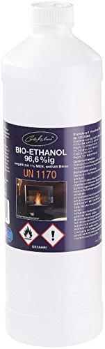 Carlo Milano Bio-Ethanol / Bio-Alkohol für Deko-Kamine 1 Liter