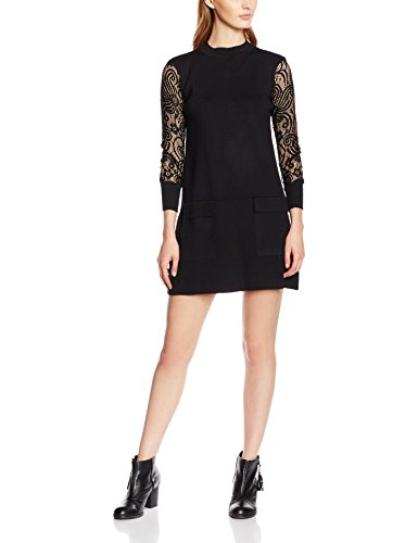 Molly Bracken S2990H16, Vestito Donna, Nero, S/M