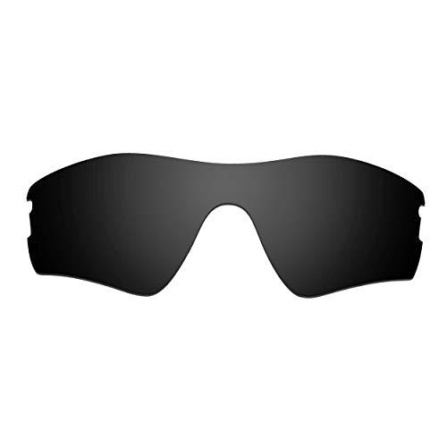 HKUCO Verstärken Ersatz-Brillengläser für Oakley Radar Pitch Sonnenbrille Schwarz Polarisiert