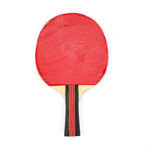 QKDSA Alle Holz Tischtennisschläger mit Case Professional Tischtennisschläger. Advanced Tennisschläger Ping Pong Paddel Ideal für Schule, Zuhause, Sportverein, Büro