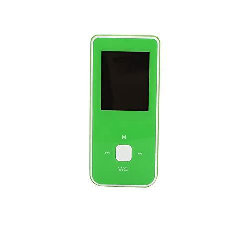 Portable USB2.0 3,5 mm FM Radio Ebook MP3 Player MP3 Player Mit Screen_Green - Green-screen-geräte