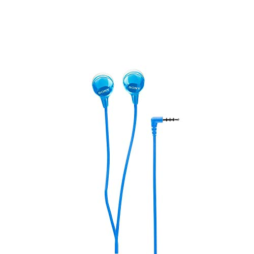 (Renewed) Sony MDR-EX14AP In-Ear Headset with Mic (Blue) Image 5
