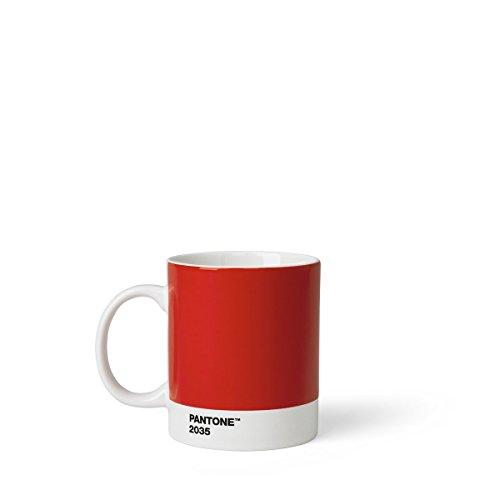 Pantone-farbe (Pantone Porzellan-Becher, Red 2035, 375ml)