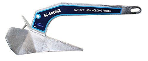 ARBO-INOX DC-Anker aus Edelstahl oder Feuerverzinkt 4 kg - 20 kg Edelstahlanker Pflug Anker Delta Anker (Stahl verzinkt, 10kg)