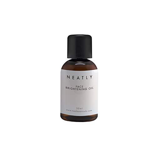 Gesichtsaufhellendes Öl von NEATLY I 50 ml I Natürliche Hautfeuchtigkeit und Antioxidant I Anti-aging und Hautaufhellung Formel I Vegan