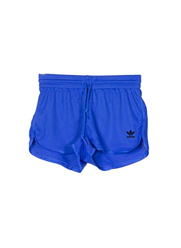 buy popular b002e 7c7d3 adidas Fashion League Rib Pantalones Cortos, Mujer, Azul (Hi-Res Blue -