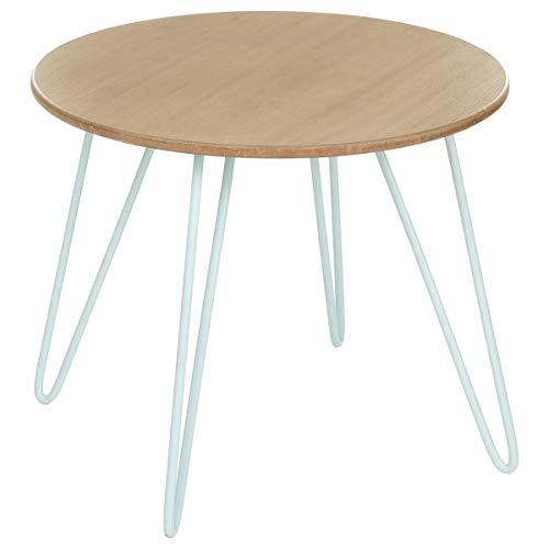 Table basse design - Esprit scandinave - Coloris BLEU Polaire