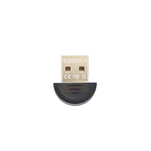 ZUZU USB Bluetooth Adapter 4.0 Bluetooth Audio Receiver CSR4.0 Support win8/10 (schwarz) Bluetooth Cell Adapter
