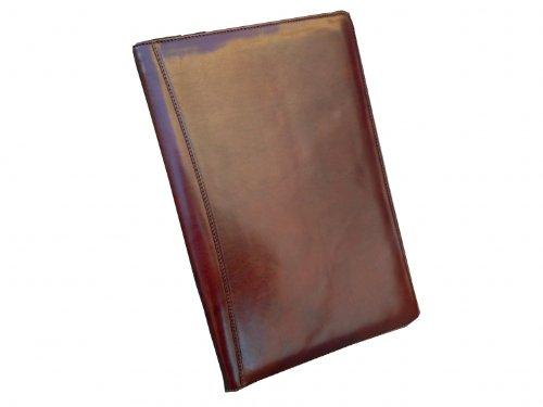 Ceancarel - Porte-signature cuir - Coloris fauve