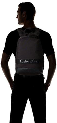 Calvin Klein Jeans Madox Backpack, Portés Dos Hommes, 12 EU Noir (Black)