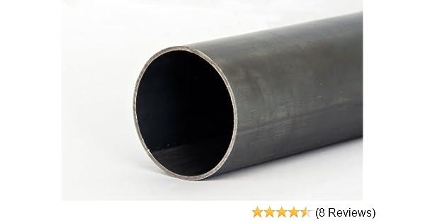 Stahlrohr Rundrohr Schwarz Nahtlos L/änge 500mm 18x1,5mm