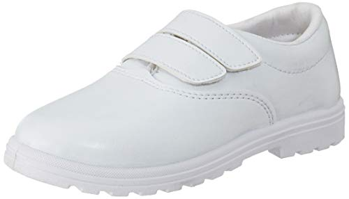 Lakhani Unisex Kid's White Sneakers-5 UK/India (38 EU) (Good Time (VSDW) 278)