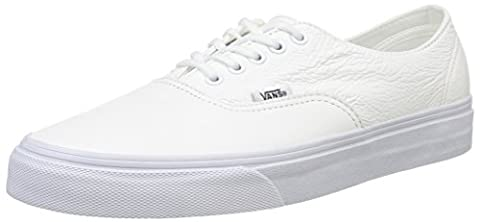 Vans U Authentic Decon Leather, Unisex Adults' Low-Top Sneakers, White (true White), 8.5 UK (42.5