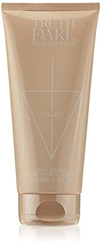 Madonna Truth or Dare Naked Body Lotion 200 ml, 1er Pack (1 x 200 ml)