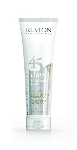 Revlonissimo 45 Days by Revlon Professional Conditioning Shampoo for Stunning Highlights 275ml