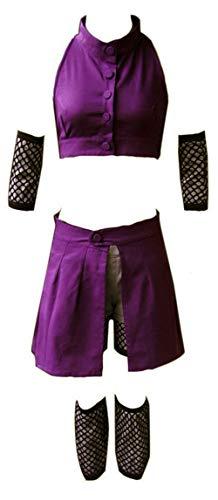 CHIUS Cosplay Costume Hidden Leaf Village Chunin Yamanaka Ino Outfit Version 2