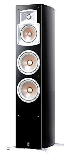 Yamaha NS 555 Stand Lautsprecher System (3-Wege Bassreflex, Waveguidehorn, 100W) klavierlackschwarz (Stück)