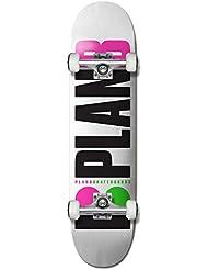 Plan B Team Og Neon 8 X 31.75, Skateboard Complet Multicolore 8 X 31,75