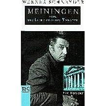 Meiningen oder Die Liebe und das Theater