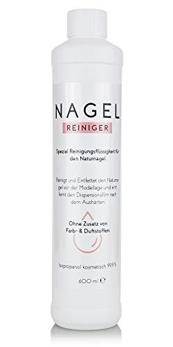 Isopropanol IPA – 99,9% Reinigungsalkohol für Haushalt und Kosmetik – Modell: Nagelreiniger (600ml)