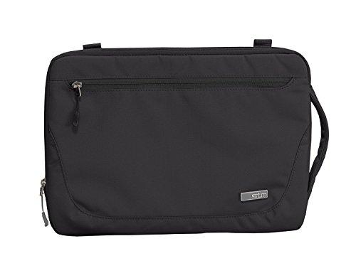 STM Robuste wasserdichte Stoff Blazer Sleeve für 27,9cm Apple MacBook–Schwarz