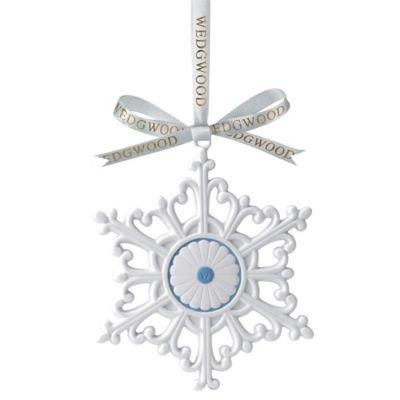 Wedgwood Large Snowflake Christmas Tree Ornament by Wedgwood -