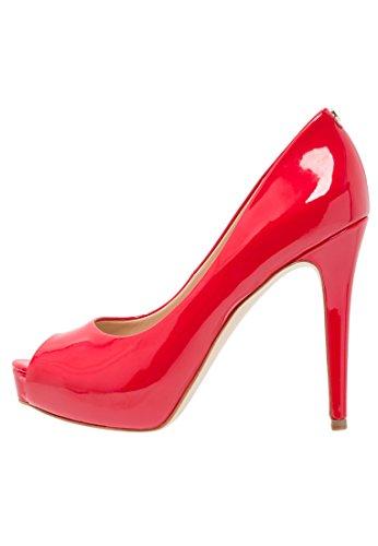 Guess Damen Pumps Rot Rot, Rot - Rot - Größe: 37 EU
