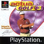 Actua Golf 3 - [PS1]