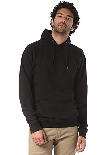 Lakeville Mountain Herren-Hoodie DAVO Basic | Kapuzen-Pullover | Sweat-Shirt mit Kapuze und Fleece-Futter