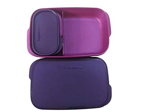 Tupperware Kid's Lunch Box  Pink Purple