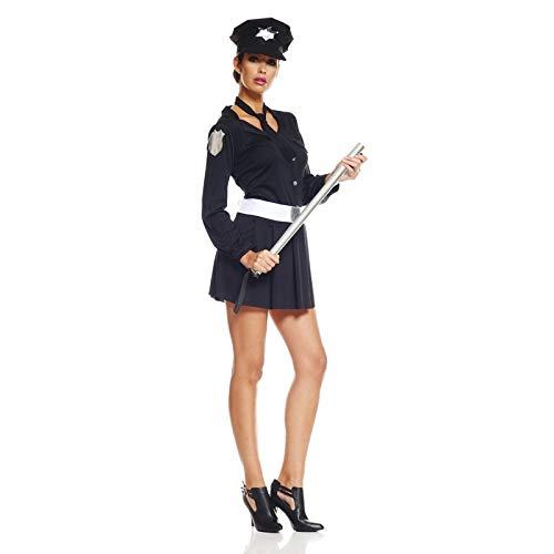 Unbekannt AEC-aq03023/M-Kostüm policiere Sexy Größe M - Policiere Kostüm