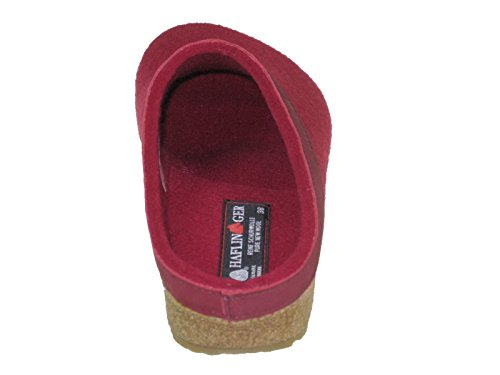 Haflinger Grizzly Torben, Sneakers basses mixte adulte Rouge