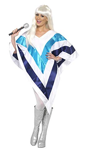 ABBA Cape accessory. Easy fit. Create a low cost ABBA costume