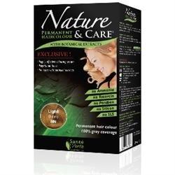 Santé verte - Nature & soin Blond Clair 8N sans ammoniaque, sans paraben, sans silicone et sans résorcine