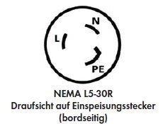 Furrion - Landanschluss-Kupplung - 230 V - 16 A