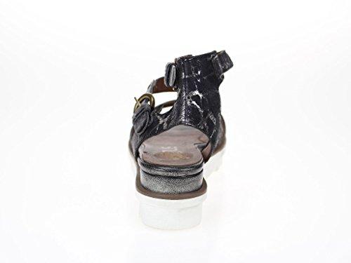 Mjus  21600604016002, Sandales pour femme Noir - Noir
