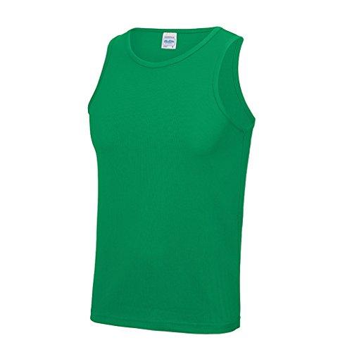 AWDis Cool Vest Herren Lauftop * Farbe: verschiedene Farben * Gr. S-XXL Kelly Green
