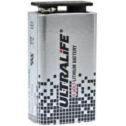 Ultralife U9VL 9 Volt Lithium Block Batterie 6AM6 9,0 Volt 1200mAh - 1 Stück