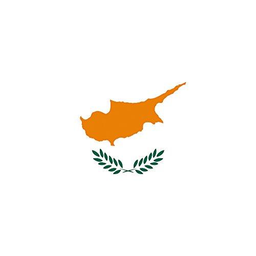Apple iPhone 5 Case Skin Sticker aus Vinyl-Folie Aufkleber Zypern Flagge Fahne DesignSkins® glänzend