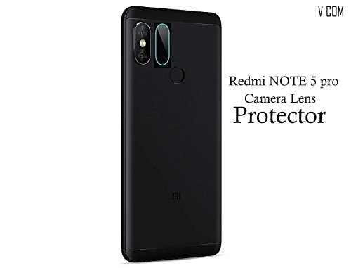 V Com ear Camera Lens Guard Flexible Impossible Screen Guard Protector 9H Hardness with Installation Kit for Redmi Note 5 Pro