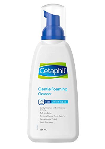 Cetaphil Gentle Foaming Cleanser, 236 ml