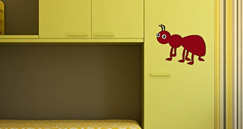 Stickers muraux décoratifs fourmi format 25cm X 18cm