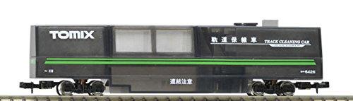 TomyTEC 064268 Schienenreinigungswagen, transparent (N Spur Modelleisenbahn)