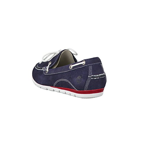 Timberland Dames Harborside Chaussures 8856a Marine Navy