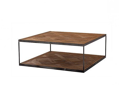 CASA PADRINO ART DECO LUXURY COFFEE TABLE ZINC - LIVING ROOM COFFEE TABLE - HOTEL TABLE FURNITURE