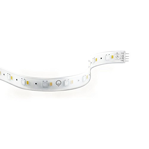 LIFX Z, Starter Kit (International) Wi-Fi Smart LED Light Strip (Base + 2 meters of strip), Adjustable, Multicolour, Dimmable, No Hub Required, Works with Alexa, Apple HomeKit and the Google Assistant
