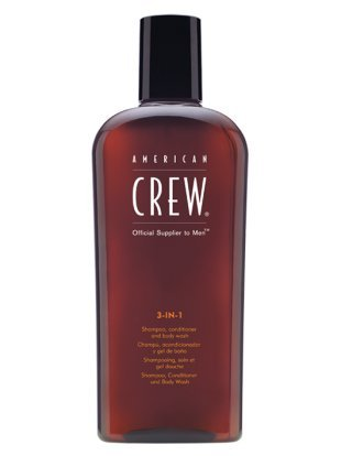 American Crew Classic 3-in-1 Shampoo, Conditioner, and Body Wash [3.3 Fl. Oz.]