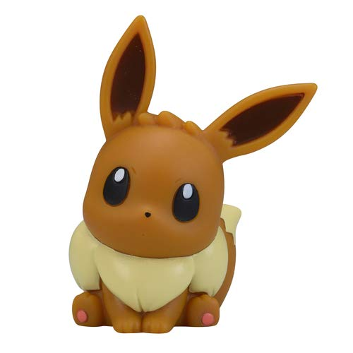Nintendo Pokemon Center Original Kids Finger Puppet Figure~133 Eievui Eevee Evoli Evoli
