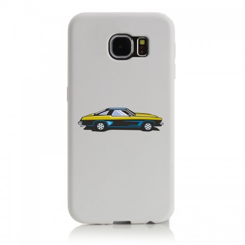Smartphone Case Hot Rod Sport carrello auto d epoca Young Timer shellby Cobra GT muscel Car America Motiv 9828per Apple Iphone 4/4S, 5/5S, 5C, 6/6S, 7& Samsung Galaxy S4, S5, S6, S